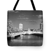 River Liffey - Dublin Tote Bag