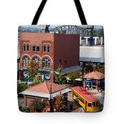 River Market In Little Rock Arizona Tote Bag