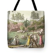 River Near San Benedetto, Madagascar Tote Bag