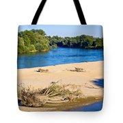 River Of Drava Green Nature Tote Bag