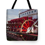 River Paddle Steamer Tote Bag