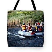 River Rafting Tote Bag