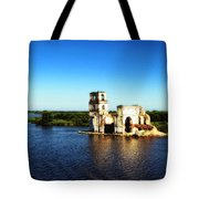 River Ruins Tote Bag