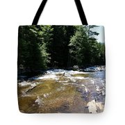 River Running Over Rocks Tote Bag