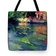 River Sile In Treviso Italy Tote Bag