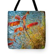 River Sumac Tote Bag