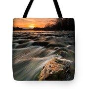 River Sunset Tote Bag