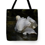 River Swan Tote Bag