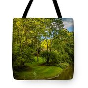 River Tranquility Tote Bag