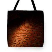 River Walk Brick Wall Tote Bag