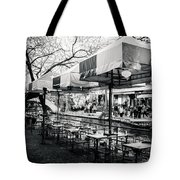 River Walk Tables Tote Bag
