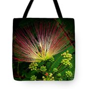 River Wildflowers Tote Bag