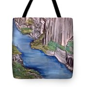 River With No End Tote Bag
