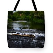 River Wye - In Peak District - England Tote Bag