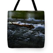 River Wye - Town Peak District - England Tote Bag