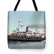 Riverboat, C1900 Tote Bag