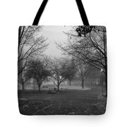 Riverfront Park Of Spokane Tote Bag by Daniel Hagerman