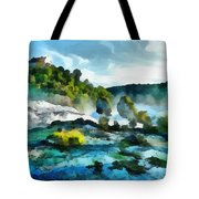 Riverscape Tote Bag