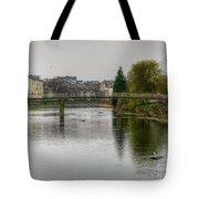 The River Kent At Kirkland In Kendal Tote Bag