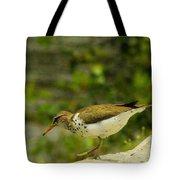 Riverside Bird Tote Bag