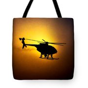 Riverside Ca Pd Air Support Tote Bag
