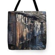 Riverside Houses  Tote Bag