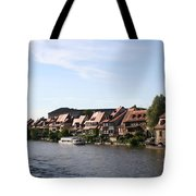 Riverside Of Bamberg - Germany Tote Bag