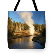 Riverside Reflection Tote Bag