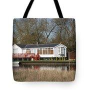 Riverside Retreat Tote Bag