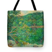 Riverview Reflections Tote Bag