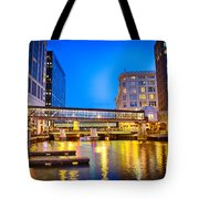 Riverwalk Shimmer Tote Bag
