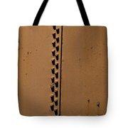 Riveted Plates   #1612 Tote Bag