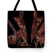 Rivets Number Three Tote Bag