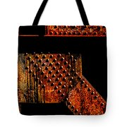 Rivets Number Two Tote Bag by Bob Orsillo