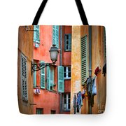 Riviera Alley Tote Bag by Inge Johnsson