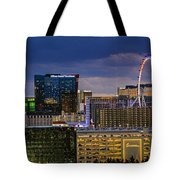 Riviera Balcony View Tote Bag