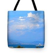 Riviera Blues Tote Bag