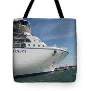 Riviera Ocean Liner Tote Bag