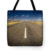 Road Ahead Tote Bag by Tim Hester