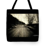 Road Of The Past Tote Bag