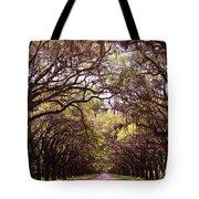 Road Of Trees Tote Bag