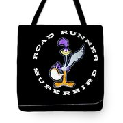 Road Runner Superbird Emblem Tote Bag by Jill Reger