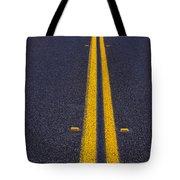 Road Stripe  Tote Bag