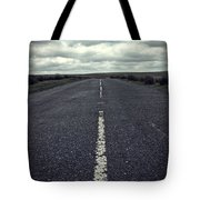 Road To The Clouds Tote Bag