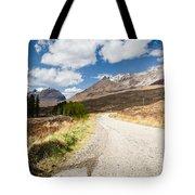 Road To Beinn Eighe Tote Bag