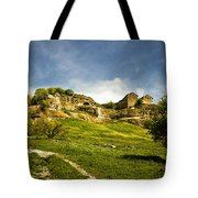 Road To Chufut-kale Tote Bag