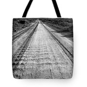 Road To Everywhere Bw Tote Bag