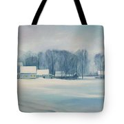 Road To Felchville Vermont Tote Bag