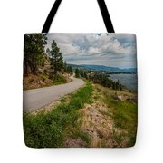 Road To Naramata Tote Bag