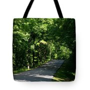 Road To Nature Tote Bag